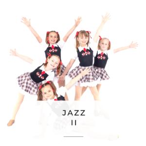 Jazz II Dance Class